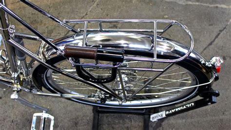 Rear Rack Bike by Ahearne Stainless Steel Touring Bike Rear Rack Bikerumor