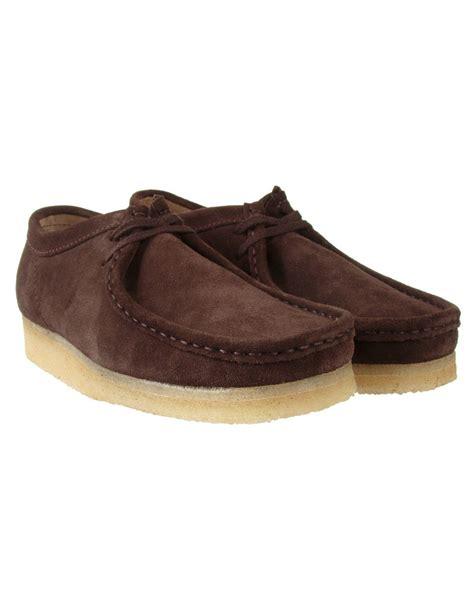 wallabee shoes clarks originals wallabee shoe brown suede casual
