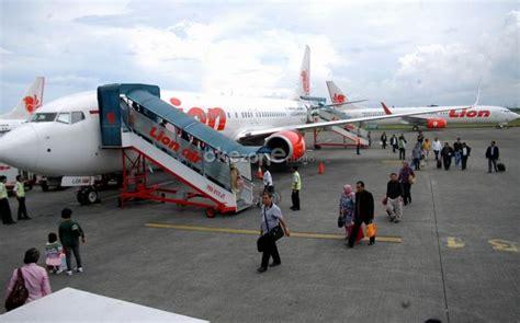 citilink internasional mesin pesawat lion air terbakar di bandara kualanamu