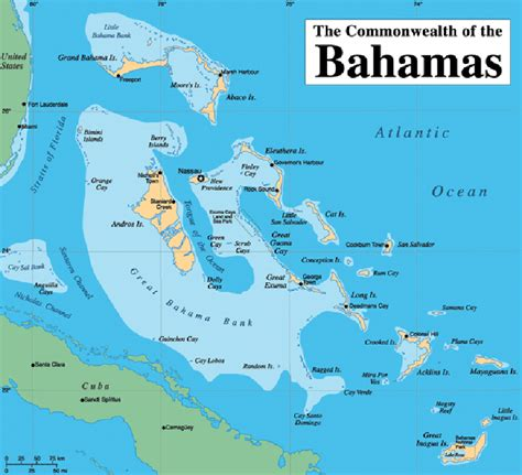 where is the bahamas on the world map bahamas map travelsfinders