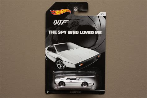 Hotwheels Lotus Jamesbond wheels 2015 bond 007 lotus esprit s1 the