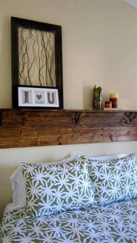 diy headboard with shelves diy headboard shelf home pinterest