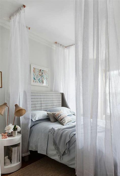 schlafzimmer gardinenstangen sch 246 nes bett gestalten 40 tolle ideen