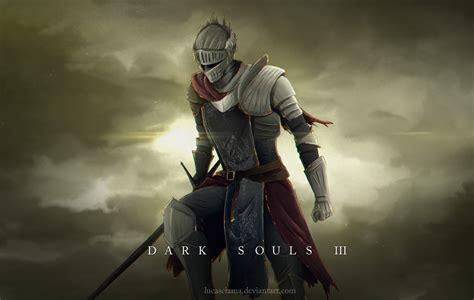 dark souls iii red knight fanart by lucasciama on
