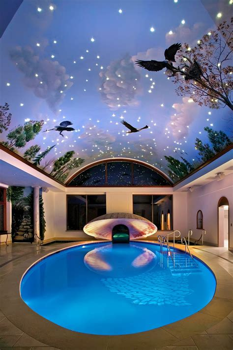 luxury indoor pools small pool cost pool design