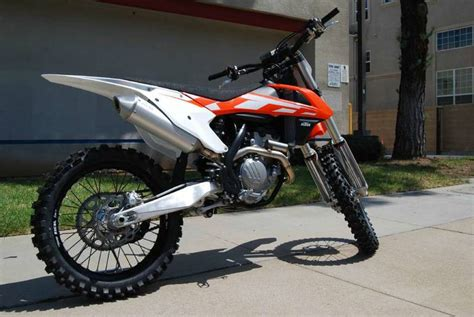 Ktm Motorcycle For Sale 2016 Ktm 250 Sx F Motorcycle From El Cajon Ca Today Sale