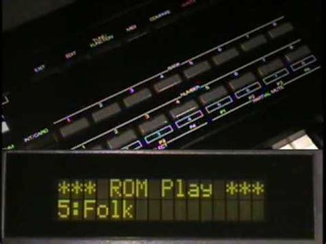 Keyboard Roland D20 roland d 20 vintage synth explorer