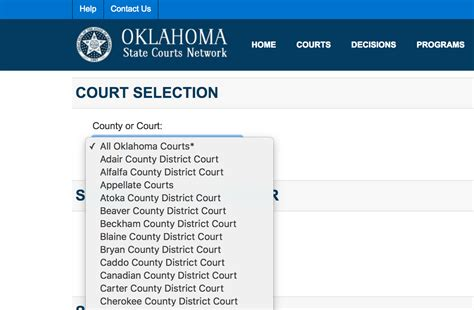 Www Oscn Net Search How To Search Tulsa Court Records Signature Bail Bonds Of Tulsa