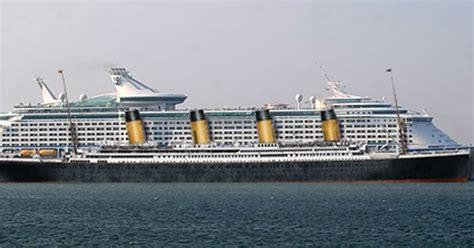 titanic vs boat titanic vs modern cruise ships fitbudha