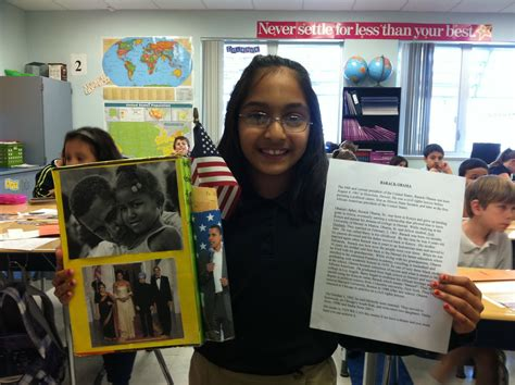 barack obama biography 3rd grade palm pointe students create cereal box projects lucielink