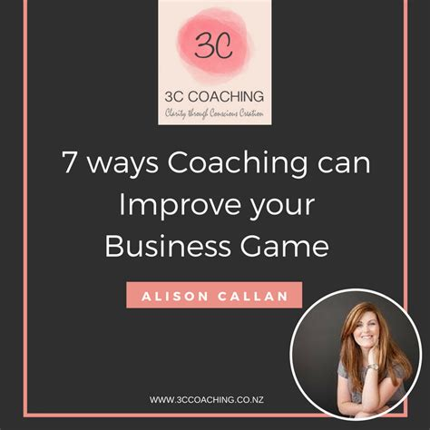 coaching for entrepreneurs how coaching can improve your bottom line books 7 ways coaching can improve your business guest