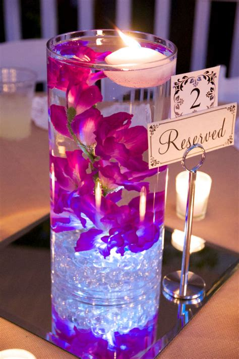 flower submerged in water centerpiece google search