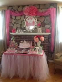 princess tutu baby shower ideas