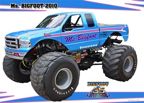 bigfoot monster truck schedule bigfoot monster truck schedule 4x4 autos post