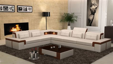 living room modern furniture set sets on coffee table