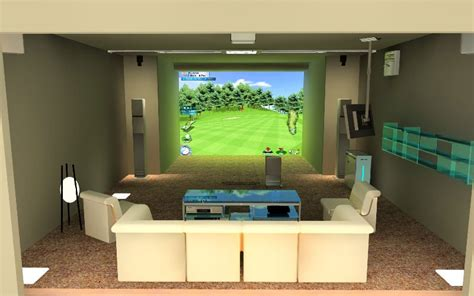 How Much Is A Home Golf Simulator   Home Review