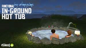 in ground bathtub my sims 4 ts3 functional in ground tub