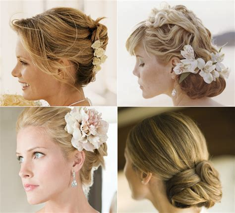 bridal hairstyles for relaxed hair the relaxed updo for an amorous dainty wedding hairstyle
