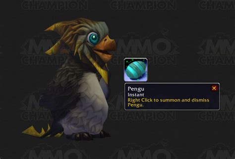 pug mmo vanity pets in patch 3 3