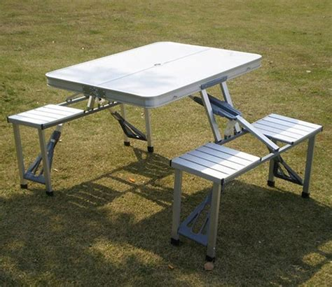 plastic folding picnic table bench china folding table cing table picnic table aluminium