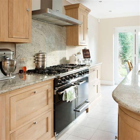 oak and cream kitchen with range cooker housetohome co uk