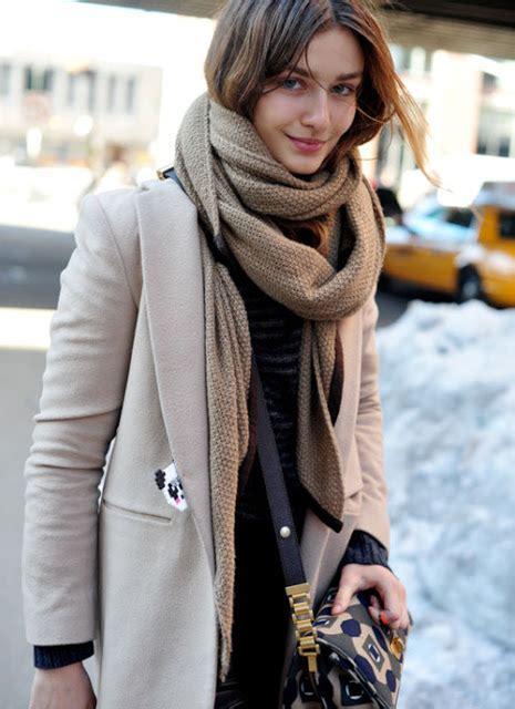 street style hair scarves street style knitted scarf vezilka