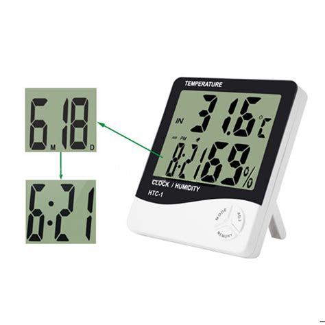 Clock Temperature And Humidity Meter With Baby Show Lu T0310 1 buy wholesale digital thermometer from china