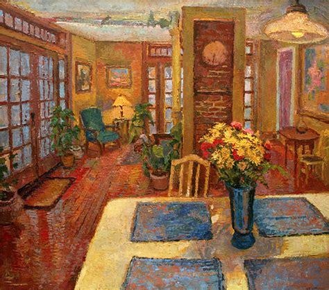 painting for kitchen an original painting of the yellow kitchen interior