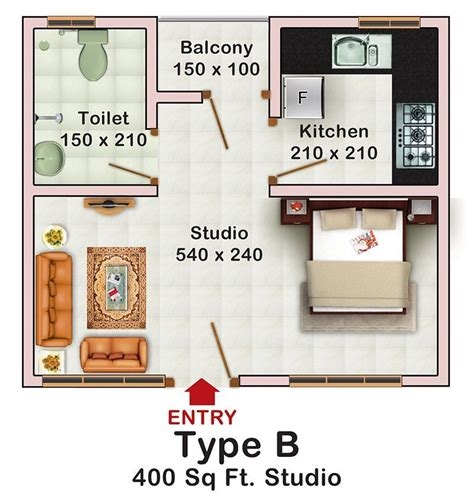 how big is 400 sq feet decorating a studio apartment 400 square feet 400 sq ft