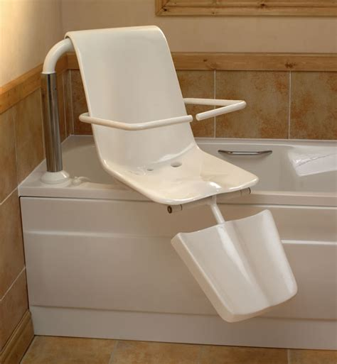 handicap bathtub lift chair disabled bath lift seat disabilityliving gt gt lots more accessible bathroom ideas can