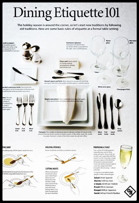 Dining Room Etiquette 47 Best Entertaining Guests Images On Pinterest Dinner Food And
