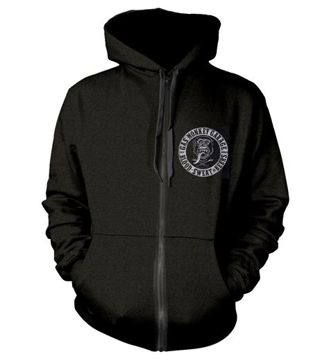 Sweater Hoodie Gas Monkey Garage official ph gas monkey garage hoody hoodie distressed logo