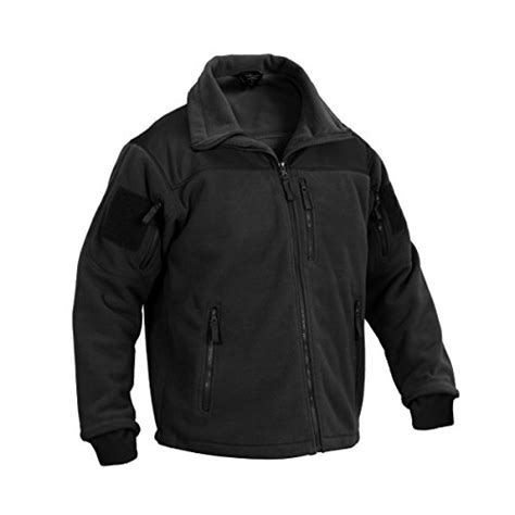 tactical shooting jacket rothco spec ops tactical fleece jacket black large