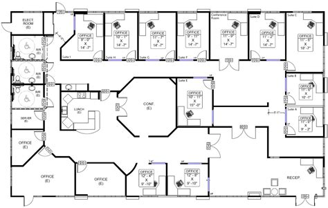 floor plan of the office floor plans commercial buildings carlsbad commercial