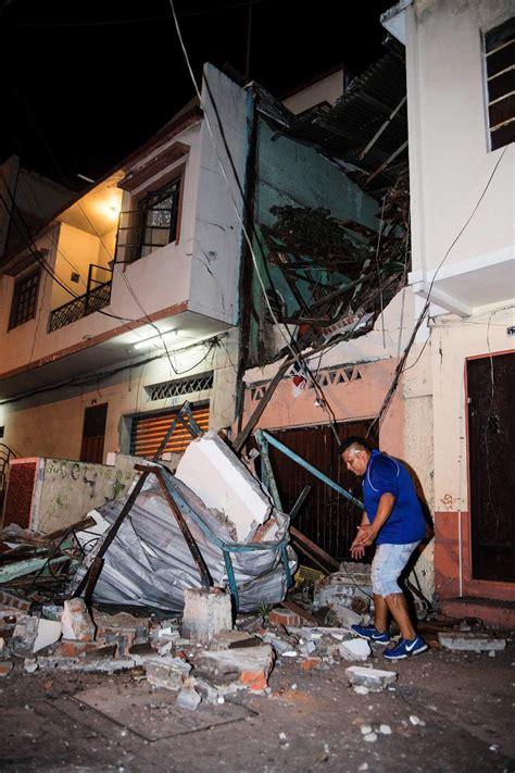 imagenes sorprendentes del terremoto en ecuador el terremoto de ecuador el peor en el pa 237 s desde 1979