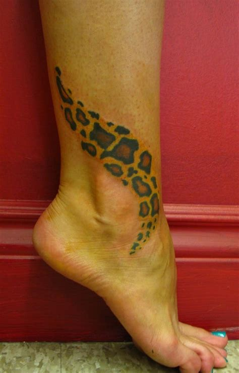 cheetah print tattoos on leg leopard print tattoos designs ideas and meaning tattoos