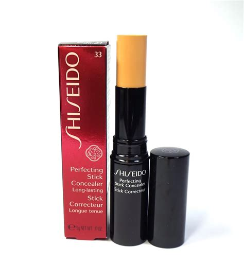 Concealer Shiseido shiseido perfecting stick concealer in 33 review