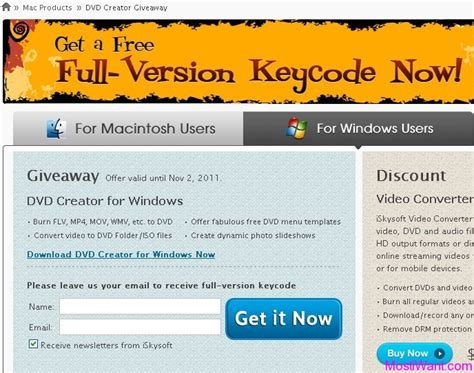 Iskysoft Giveaway - iskysoft dvd creator serial license key for free windows mac most i want