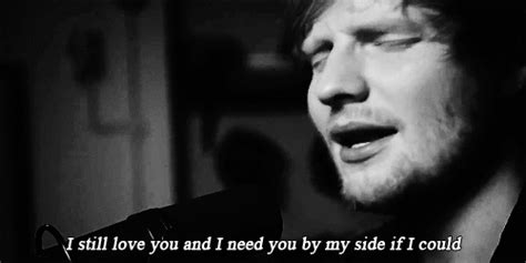 ed sheeran perfect night gif love black and white song singing lovely bw need love