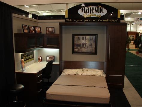 Bed Folds Into Desk by For Jenn S Apartment A Really Cool Murphy Bed And
