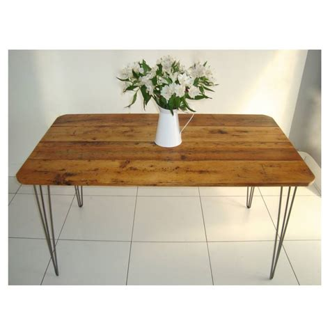 Hairpin Legs Dining Table Rex Dining Table With Hairpin Legs By Renn Uk Notonthehighstreet