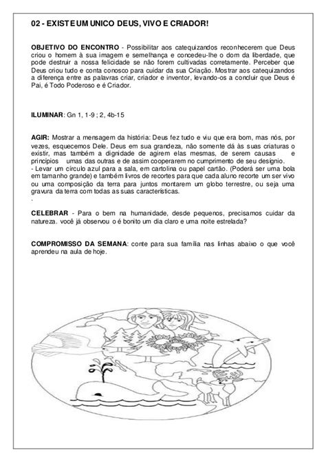 APOSTILA DE PRE CATEQUESE