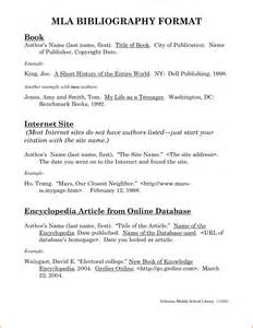 Example of mla bibliography expense report template