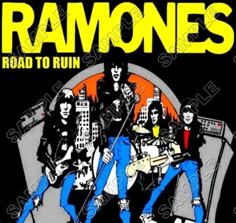 Rockx Ramones 3 Tx T Shirt ramones t shirt iron on transfer decal 3