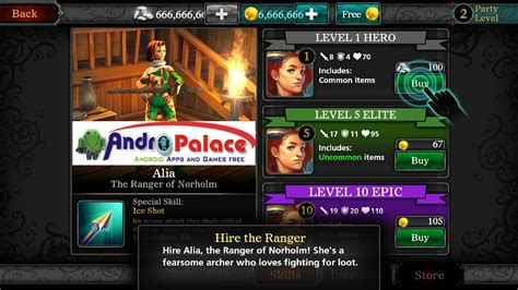 unlimited money apk heroes of destiny mod v1 2 1 apk data unlimited money andropalace