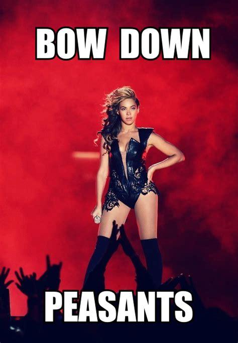 Bow Down Meme - best music of 2013 rumors on the internets