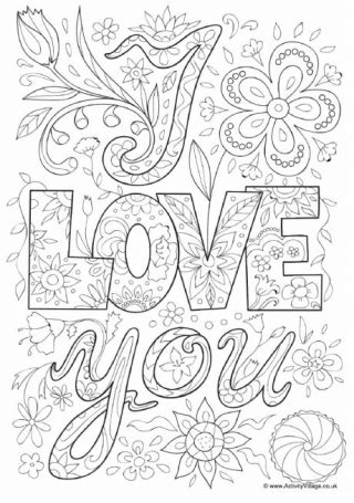 you doodle free s day colouring pages