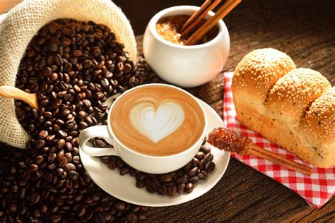 wallpaper drink coffee lovely drink and food sweet coffee and hot bread