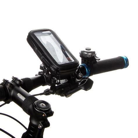 Universal Bike Mount With Waterproof For Smartphone 4 Berkualitas water resistant bike mount handlebar holder for phones