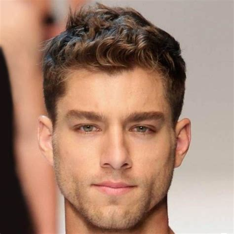 hairstyles for thin curly hair guys hairstyles for men with thin curly hair men s short